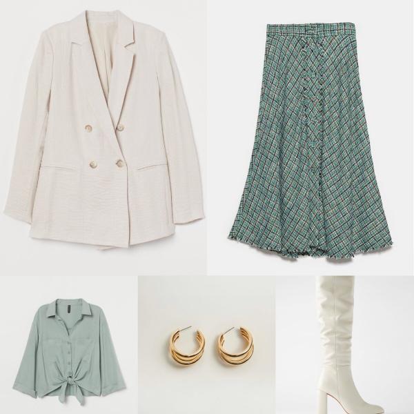 6 стильных образов с вещами из «Zara», «Stradivarius», «H&M», «Mango»