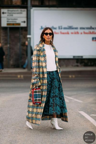 14 идей как носить длинную юбку и не выглядеть старомодно