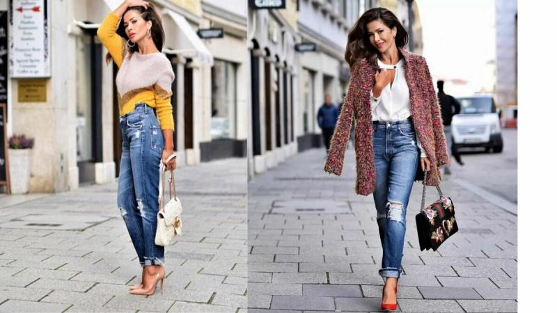 5 способов носить одни и те же джинсы всю неделю, чтобы никто не заметил