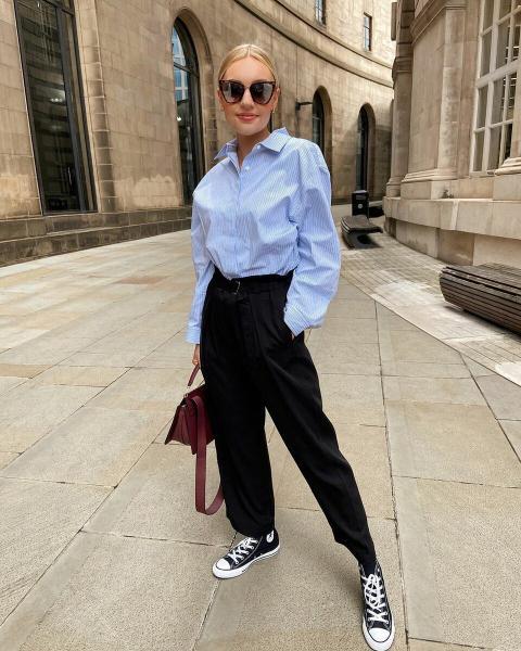Брюки с кроссовками: Стильное сочетание, чтобы быть на пике моды