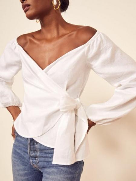 Как носить роскошный белый цвет стильно и современно