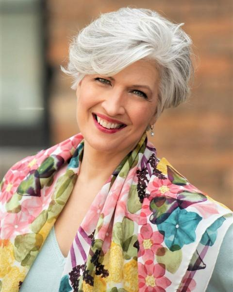 Лучшие короткие стрижки весны 2020 для женщин старше пятидесяти