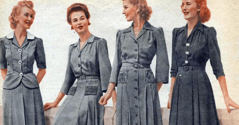 """""""Мода 2020 переживет тяжелые времена"""". А как это было во время и после Второй Мировой?"""