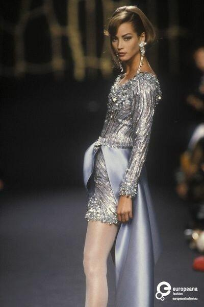 """Модная ностальгия: элегантная коллекция Lanvin """"Осень-Зима"""" 1991"""