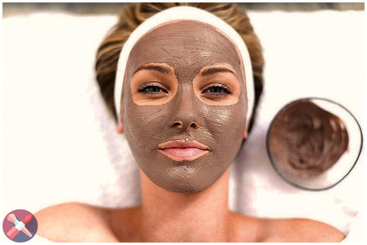 Подтягивающая маска для лица - наносим вечером, а утром уже видим результат
