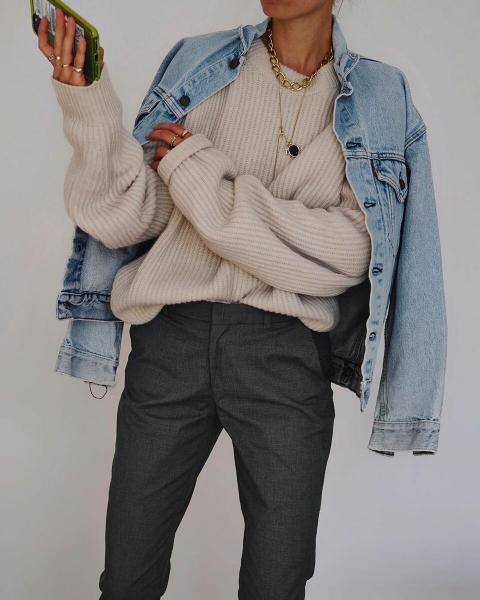 С чем носить джинсовую куртку в новом сезоне: 20 сногсшибательных образов