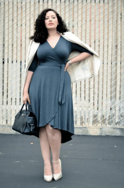 Современные и недорогие образы для женщин 50 размера