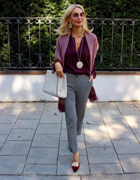 Стиль для женщин 45+ Как стильно носить брюки и при этом выглядеть женственно