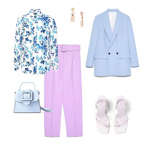 Вам цветы! 6 стильных идей, с чем носить блузу с цветочным принтом
