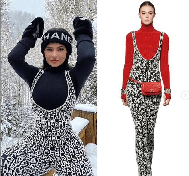 И на ком же одежда выглядит лучше: как смотрятся одинаковые вещи на Кайли Дженнер и на моделях с каталогов