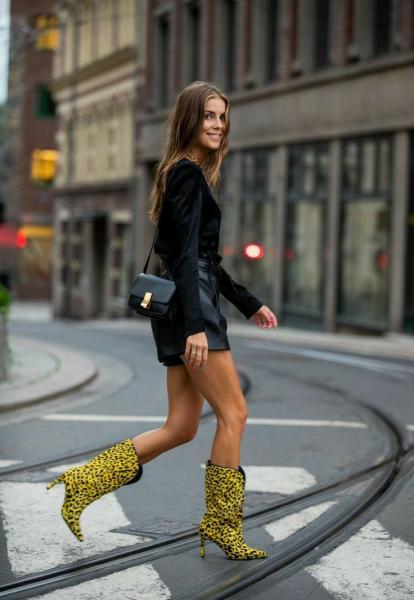 Яркая обувь в образе. 9 модных примеров.