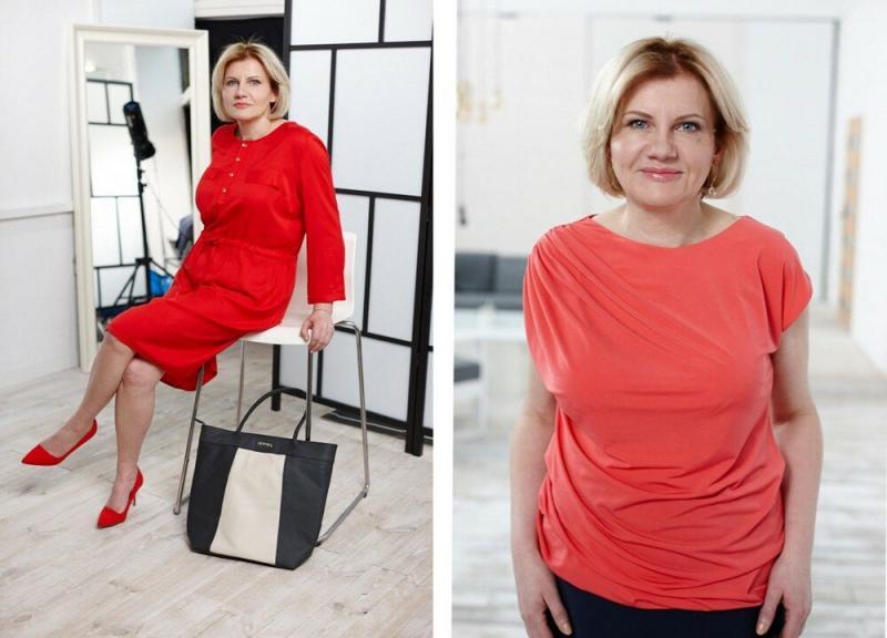 """""""Как состоятельная дама"""":в новом образе от стилистов 48-летняя Мария стала выглядеть очень элегантно"""