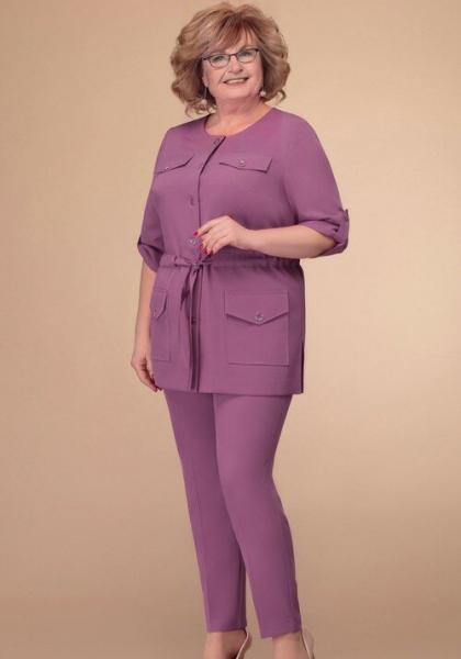 Мода кроется в деталях. Какие костюмы хорошо смотрятся и подойдут дамам 55+ летом 2020