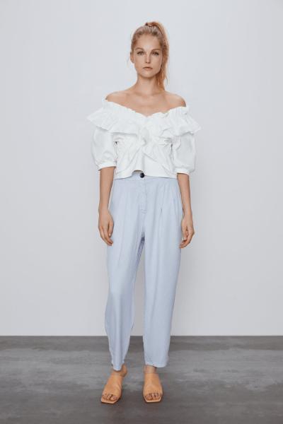 Надо брать: 6 брюк на лето 2020 из Zara, в которые я влюбилась