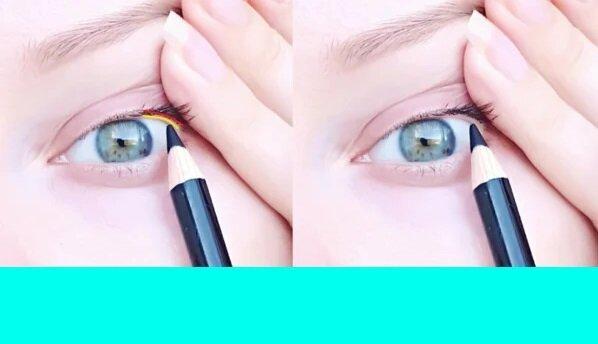 Придаем глазам в зрелом возрасте выразительность: учимся прокрашивать межресничку (3 способа)