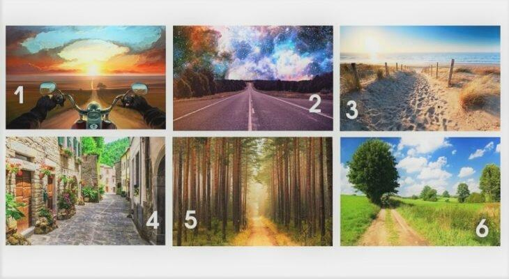 Психологический тест: выберите дорогу своей жизни