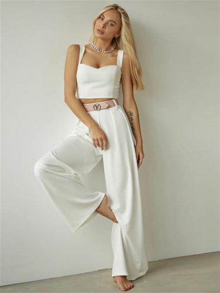Широкие брюки-главная покупка сезона весна-лето 2020