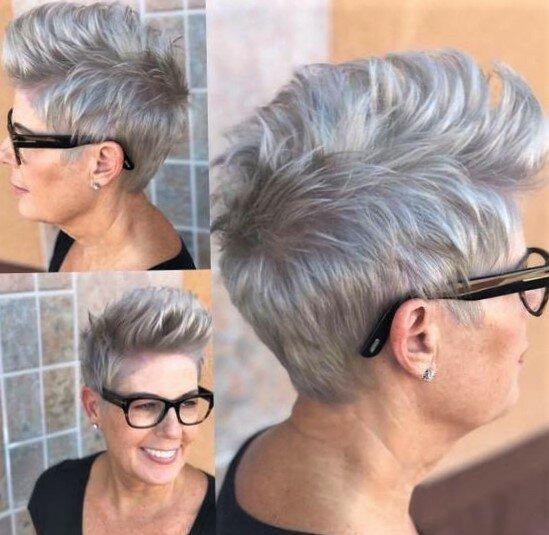 Стрижки, которые будут смотреться красиво и современно на пятидесятилетних женщинах