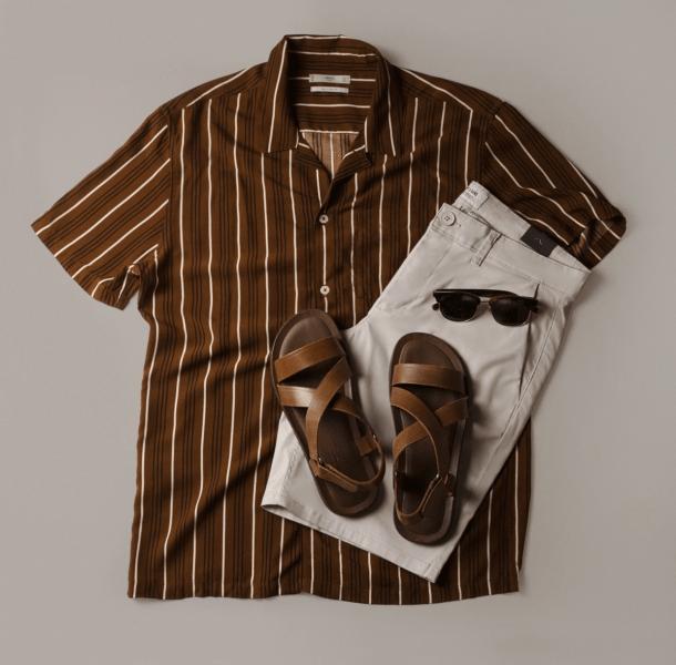 3 образа с повседневной рубашкой на лето