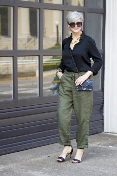 Элегантный и практичный стиль кэжуал для женщин 50+. Легко запомнить - легко повторить