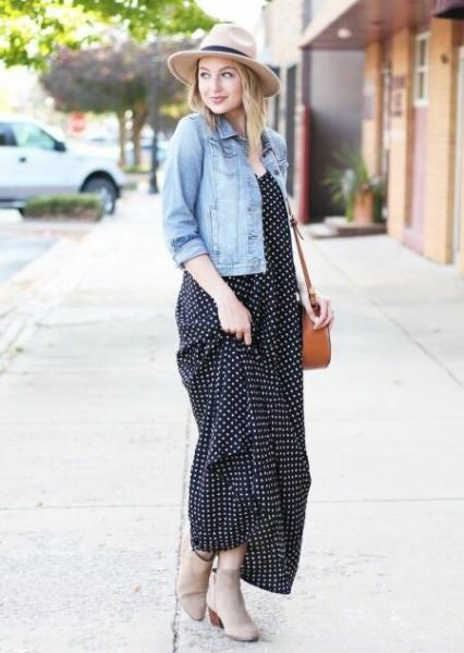 Платья макси длины: 5 примеров с чем носить, чтобы это выглядело роскошно, а не как деревенский вариант