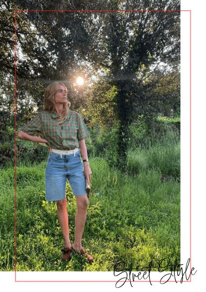 Почему джинсовые шорты-бермуды стали ключевым трендом лета 2020
