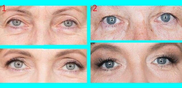 Всего 3 детали в макияже глаз и взгляд приобретает моложавость: учимся на простых примерах