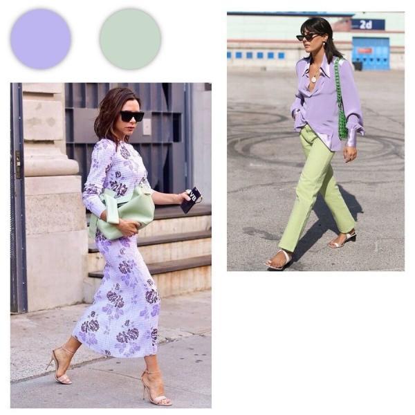 Идеальные варианты цветовых сочетаний в одежде