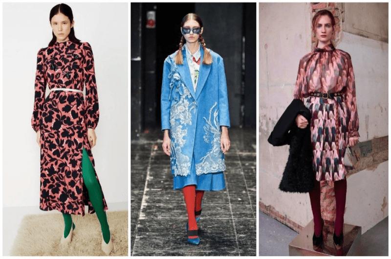 Как сочетать колготки с одеждой по правилам моды, стиля и этикета