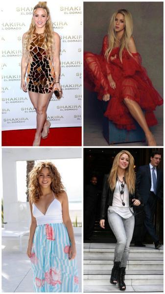 Шакира без фотошопа, как выглядит певица без макияжа