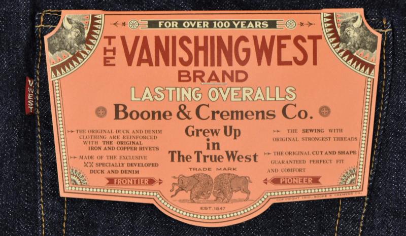 Джинсы Levi's 501XX и джинсы VANISHING WEST 601XX 1951 DENIMS.