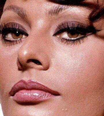 Как повторить макияж глаз Софи Лорен