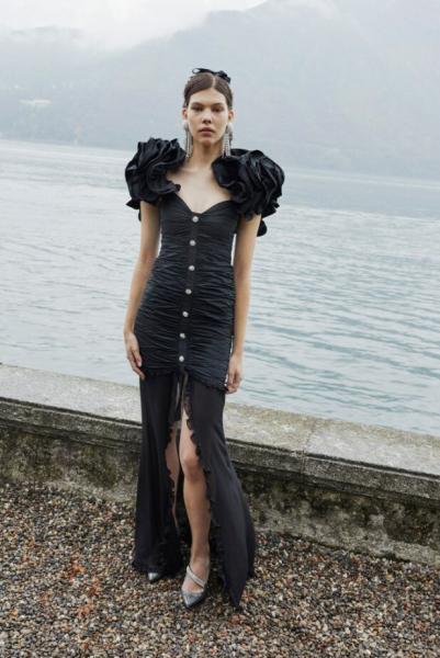 Модная осенняя коллекция Alessandra Rich для тех, кто любит стиль ретро