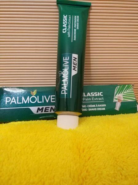 Один из лучших бюджетных кремов, пен и гелей для бритья - Palmolive, обзор