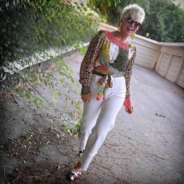 Как бы я хотела выглядеть в 60 лет. Показываю модные образы 60-летней женщины