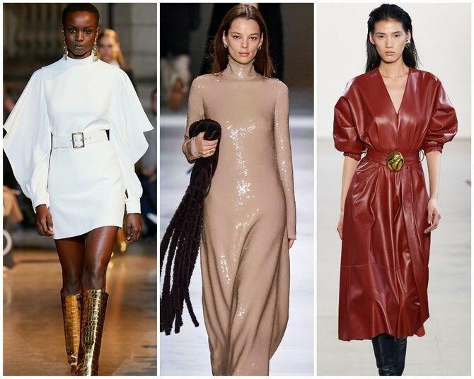Самые красивые платья осень-зима 2020-2021: гид по модным трендам и фасонам
