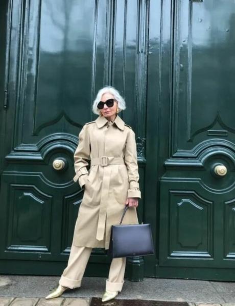 Самые модные цвета тренчей на осень 2020 – наряжаемся красиво в 50 и старше