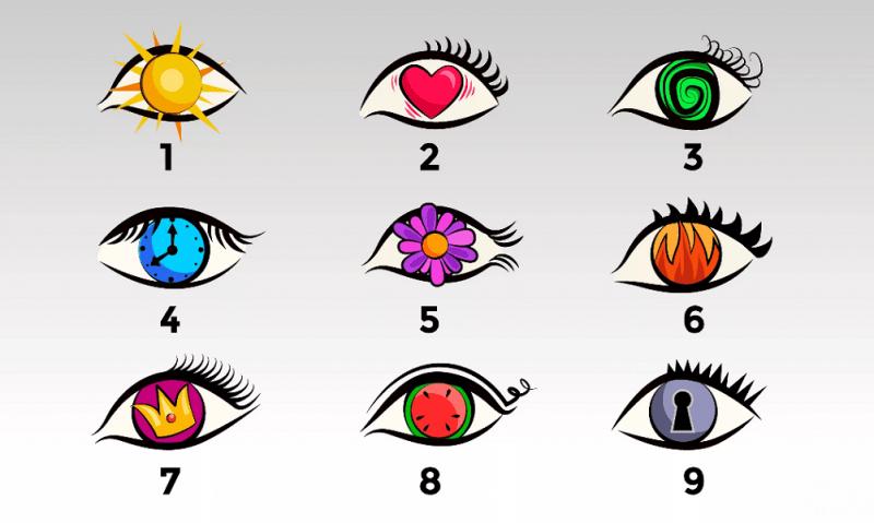 Тест: Выберите глаз, чтобы узнать, каким человеком вас видят другие