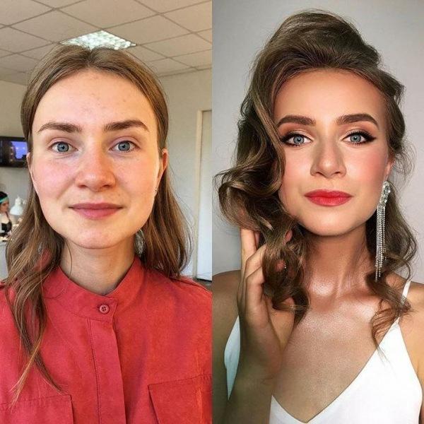18 женщин до и после макияжа, которых не просто накрасили, но и подняли их самооценку до небес