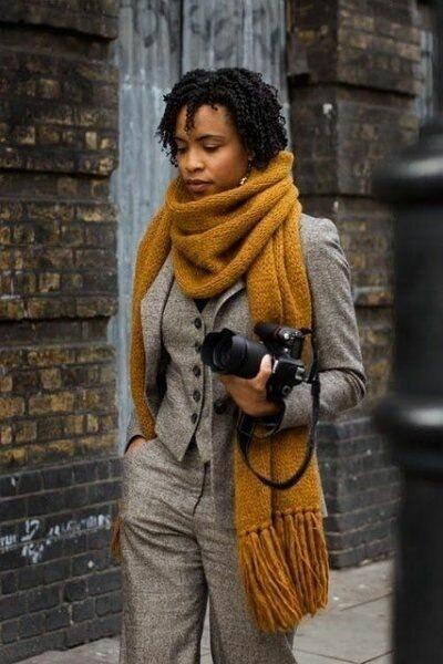 Аксессуары осень-зима 2020-21: самые стильные шарфы