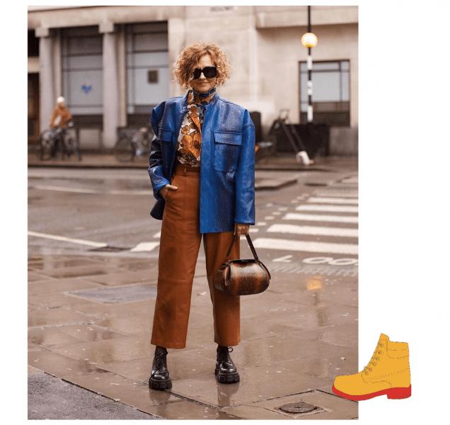 Ботинки на зиму даме элегантного возраста и стиля