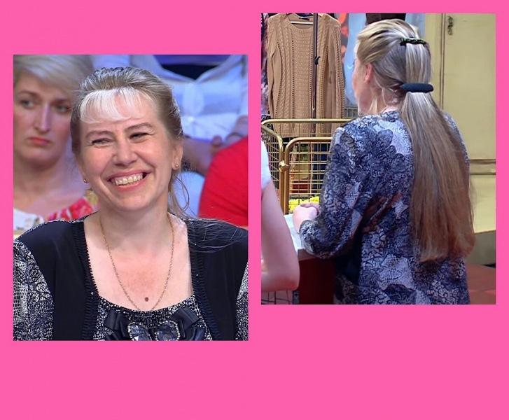 48-Летней Женщине Очень Повезло, Ведь На «Модном Приговоре» Ее Омолодили, Но Длинные Волосы Снова Обрезали