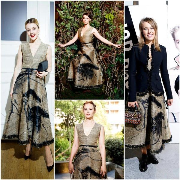 Восемь звёздных модниц и одно культовое платье Dior: идеальные образы получились не у всех