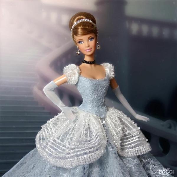 Роскошные принцессы Диснея в пышных платьях от дизайнера Дэвида Боччи