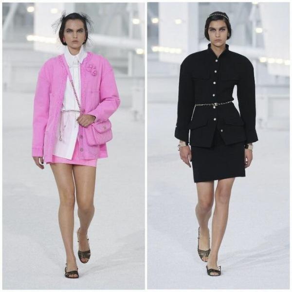 Элегантность, о которой мы забыли: женские костюмы с юбкой возвращаются в 2021 году