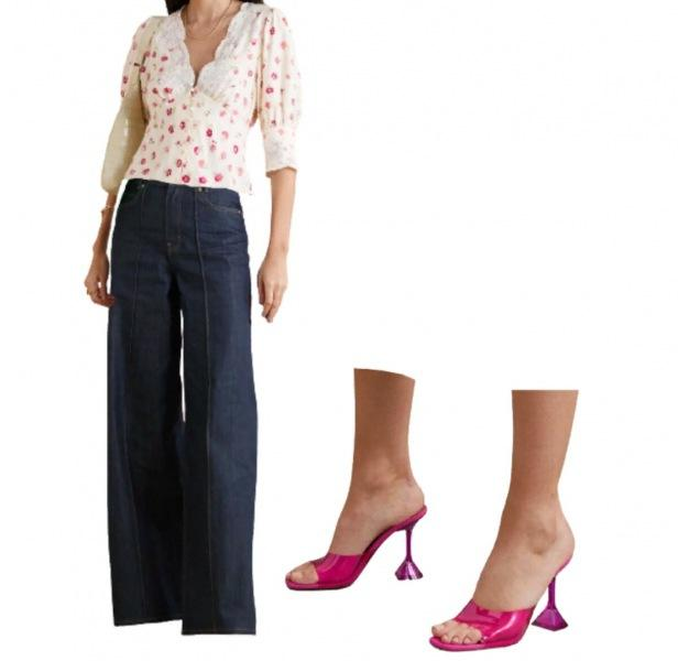 Показываю 5 вариантов сочетаний для джинс-палаццо.