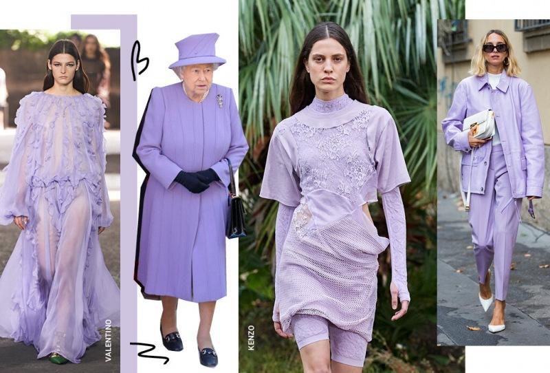 Лавандовый – самый модный цвет весны 2021