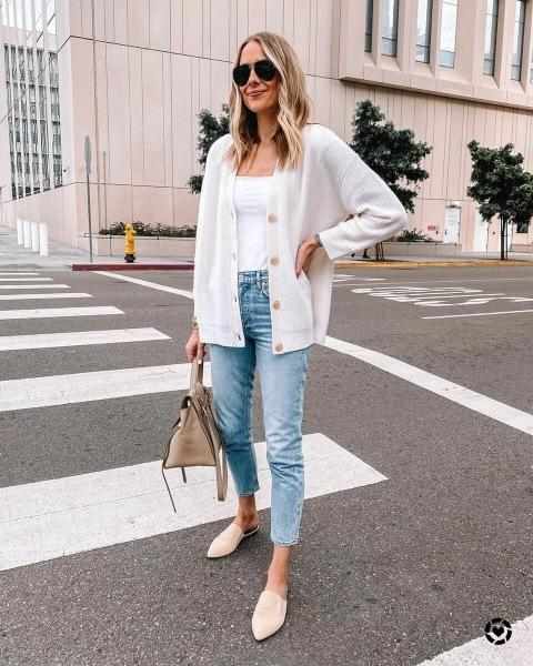 30 крутых решений с чем носить джинсы весной и выглядеть сногсшибательно
