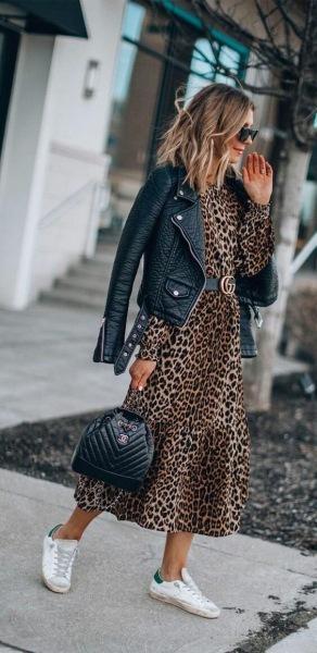 8 советов как стильно носить хищный принт