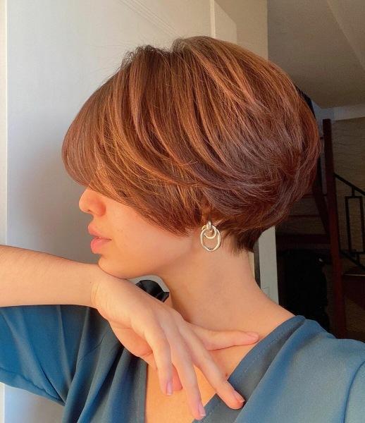 Короткий каскад на редкие волосы: 10 изумительных примеров